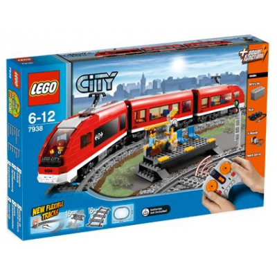 LEGO CITY TRAIN Passager rouge 2010