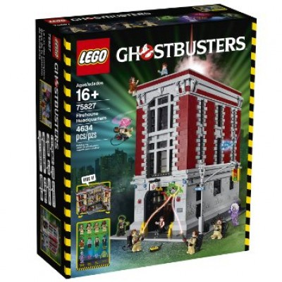 LEGO GHOSTBUSTERS LE QG DES GHOSTBUSTERS 2016