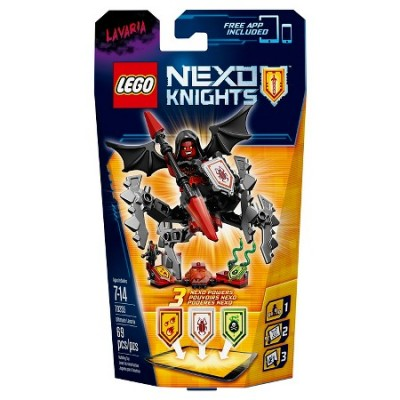 LEGO NEXO KNIGHTS L'ULTIME CHEVALIER LAVARIA 2016