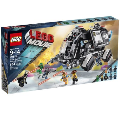 LEGO MOVIE LE SUPER VAISSEAU DE LA POLICE SECRETE 2014