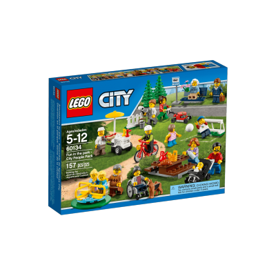 LEGO CITY AMUSEMENT AU PARC ENSEMBLE DE FIGURINES CITY 2016
