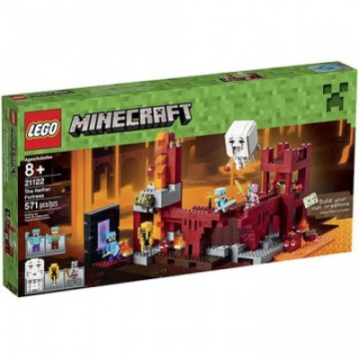 Lego Minecraft LA FORTERESSE DU NETHER 2015