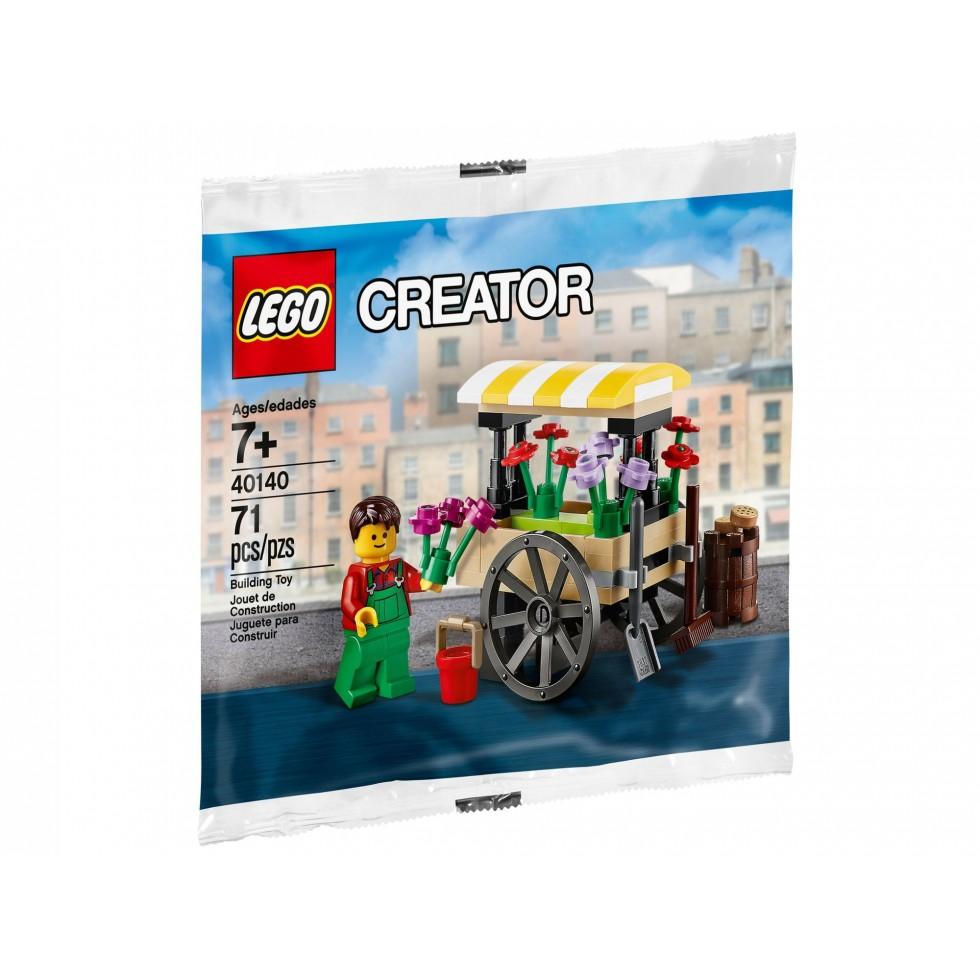Lego createur exclusif kiosque stand a fleur 2015 for Stand createur