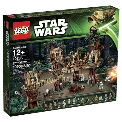 LEGO EXCLUSIF STAR WARS LE VILLAGE EWOK 2013