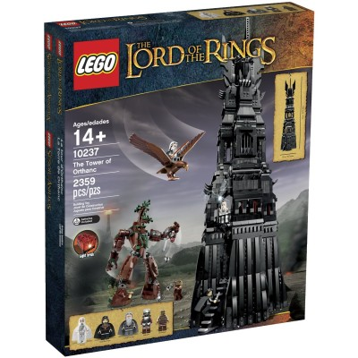 LEGO EXPERT Lord of the Rings LA TOUR D'ORTHANC 2013
